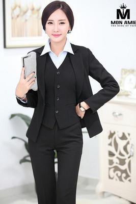 Bộ Comple Nữ Hàn Quốc Màu Đen Cao Cấp